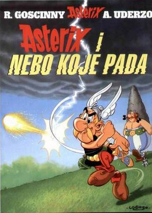 Asterix i Nebo koje pada [33]  (2009)  Comic-Press
